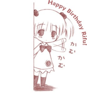 Happy Birthday Rifu,,
