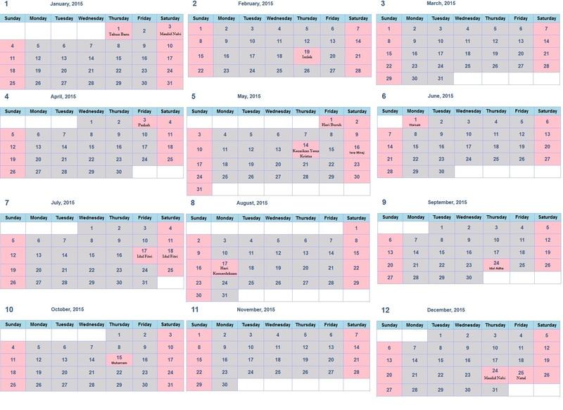 ... Kalender 2015 Dengan Libur Nasional | Search Results | Calendar 2015