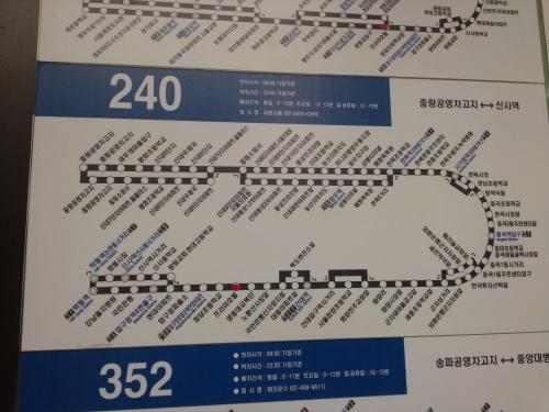 Ini salah satu penunjuk arah bus-nya. Untuk MRT ada bahasa Inggrisnya, tapi untuk yang laiiin~~
